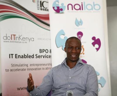 Sam Gichuru, Nailab's Co-Founder