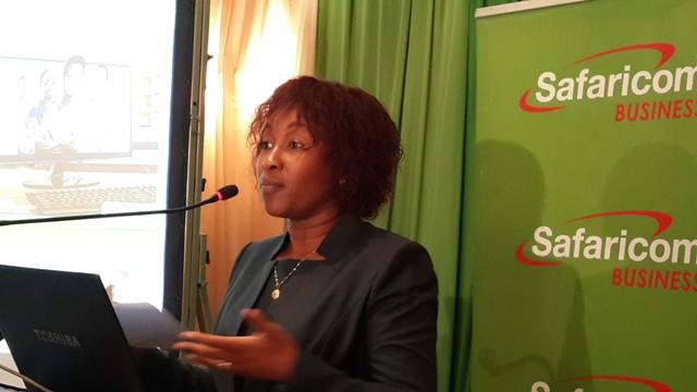 Sylvia Mulinge, GM Safaricom Business