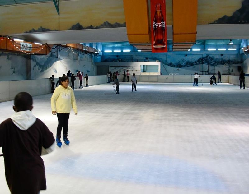 Ice skating - Panari