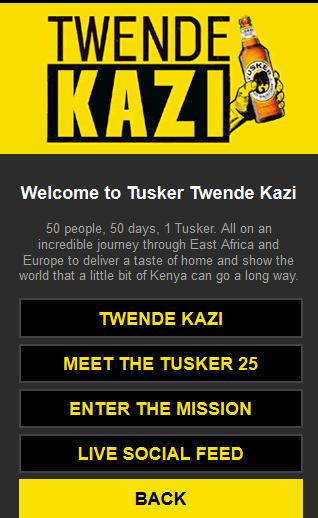 Tusker Twende Kazi 2