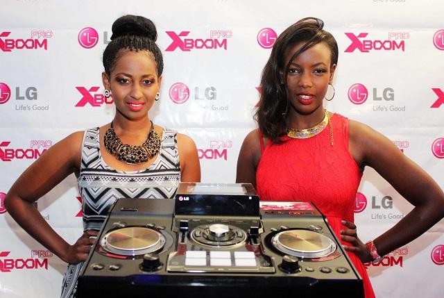 Sarah Hassan and Mumbi Maina at the launch