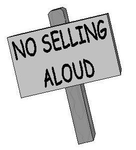 No Selling Aloud