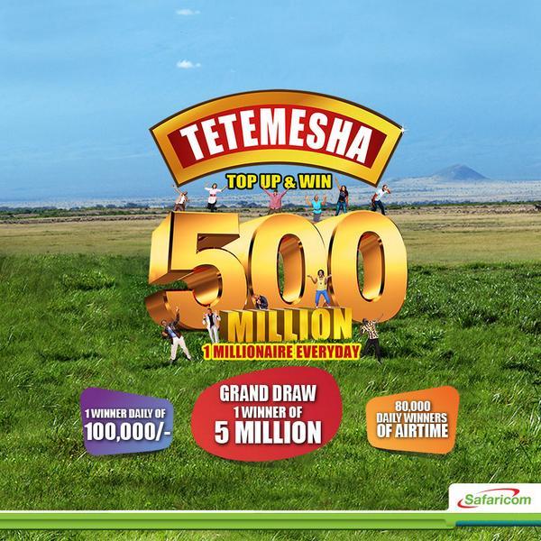 Tetemesha Na Safaricom