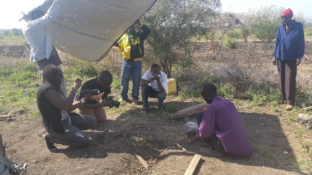 Team Amunga in Shambani, Isiolo