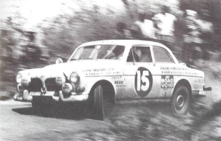 Joginder Singh & Harbajan Sembi - East African Safari Rally 1967