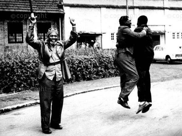 Jomo Kenyatta Celebrates