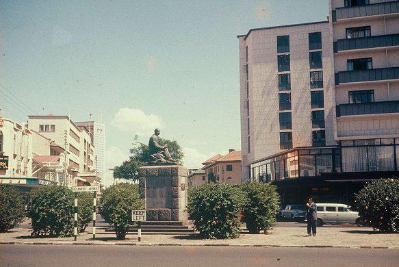 Statue of Lod Delamere