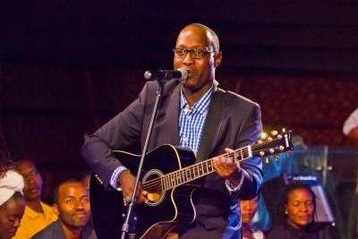Benjamin Webi, the winner of the Airtel TRACE Music Star, Kenya edition ...