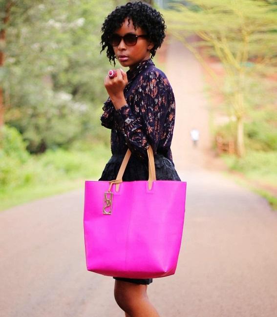 Fashion Blogger Nancie Mwai of