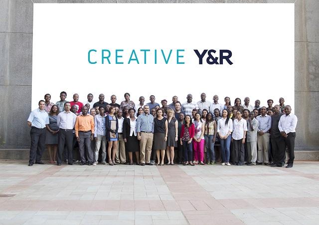 Creative Y&R team