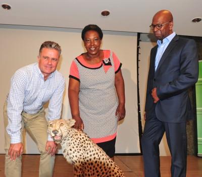 Lewa-Wildlife-Conservancy-CEO-Mike Watson-Lewa-Mrathon-Beneficiary-Rugu