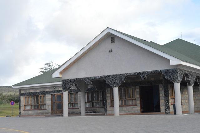 Ol Karia Geothermal Spa reception