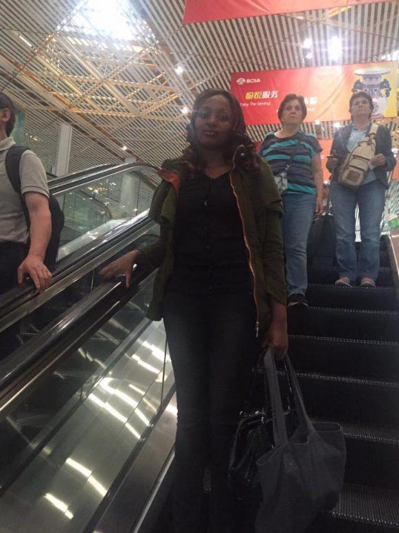 Sevelyn Kinya - Beijing International Airport
