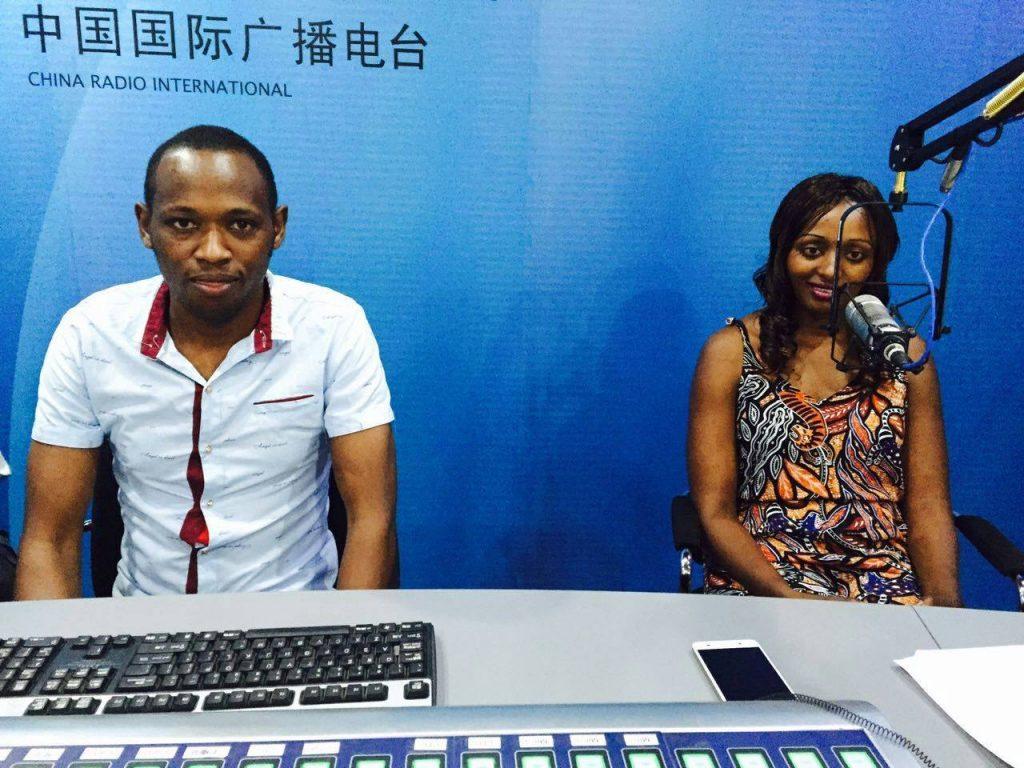 Sevelyn Kinya at China Radio International